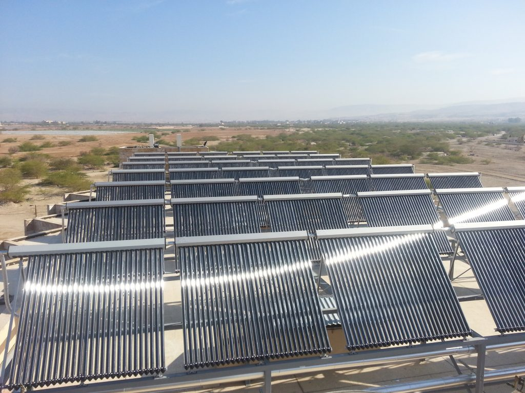 Large Scale Solar Hot Water