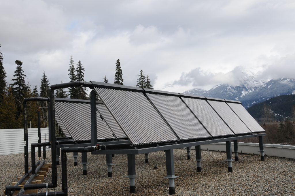 Commercial Solar Hot Water Freezing Temperatues