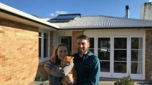Solar hot water installation on home in tauranga