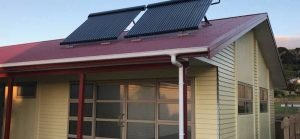 Solar installation at Torere Marae roof top